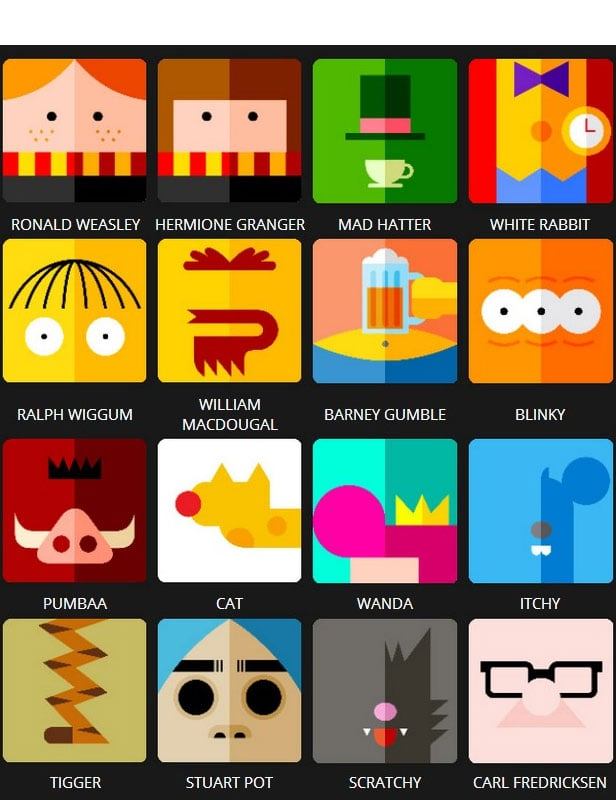 Level 6 Cartoon Characters : Icon pop quiz answers character level tutoriales y