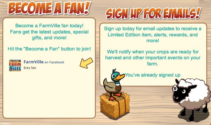 Fan Famrville y email updates