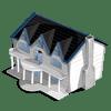 Manor Categoria: Casas Coste: 56 Se vende por: 10,000 Tamaño: 6x11 XP: 1000