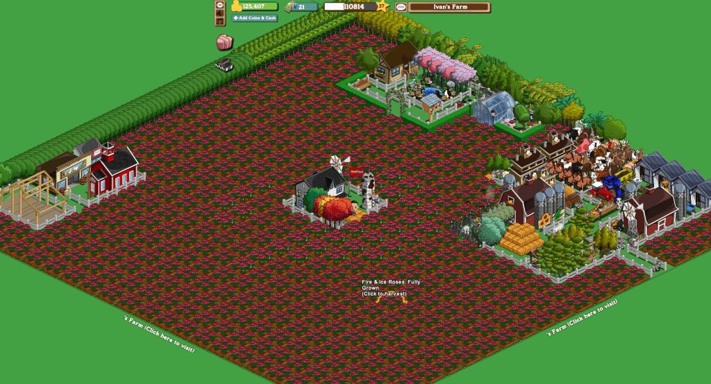 Mi granja antigua en Farmville