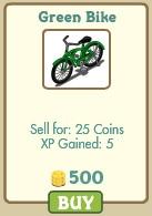 Green Bike farmville