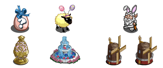 Spring Basket Farmville 4
