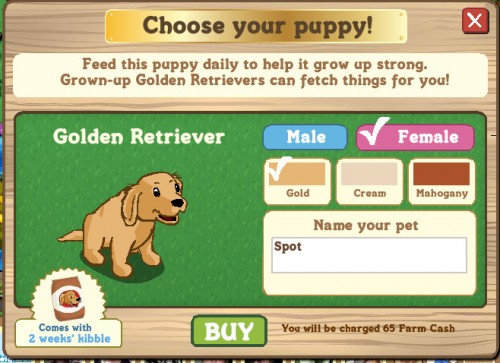 Funcionamiento Farmville puppy Dog 1