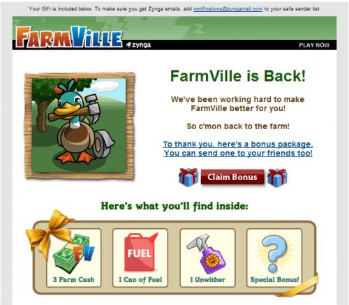 Farmville Mail