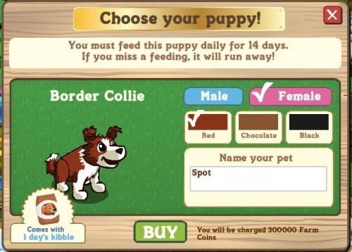 Funcionamiento Farmville Puppy dogs 2