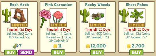 Novedades Farmville market 2