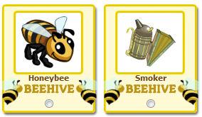 Honeybee y Smoker Farmville
