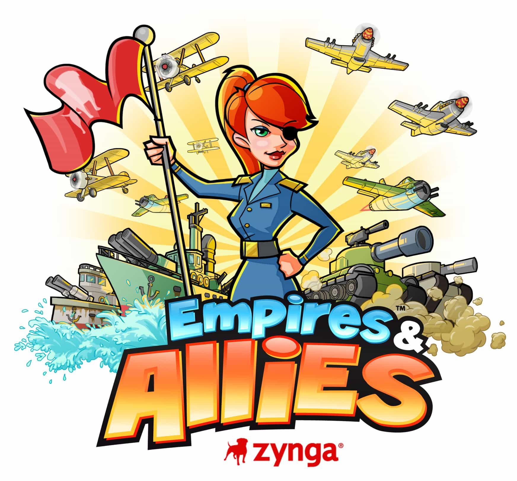 Logo del juego Empires & Allies de Zynga