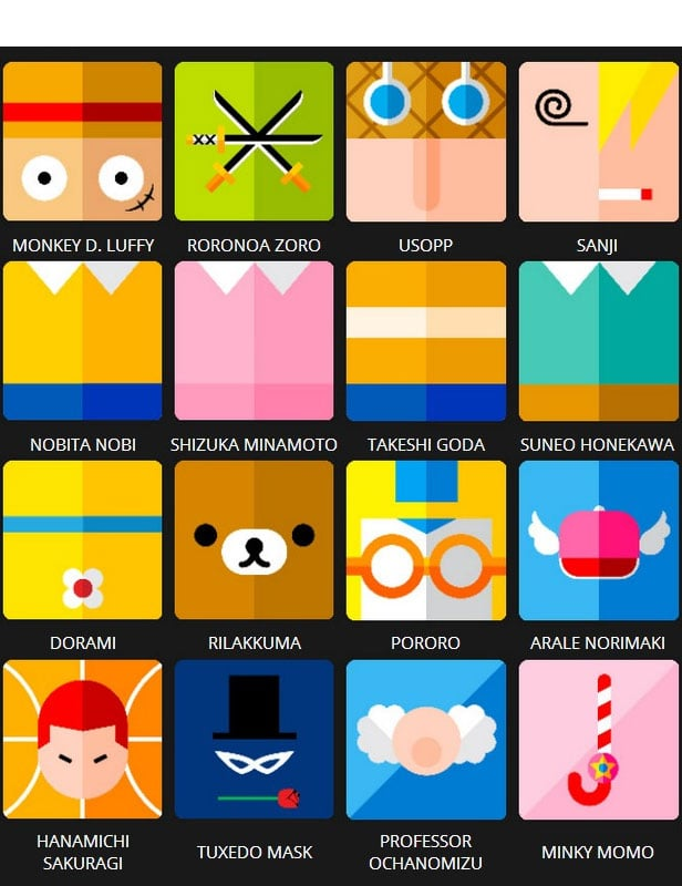 Icon Pop Quiz Answers Character Level 7