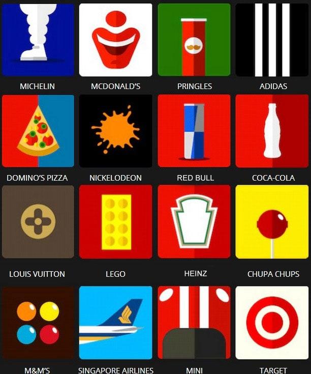 Icon Pop Quiz Brands Level 1