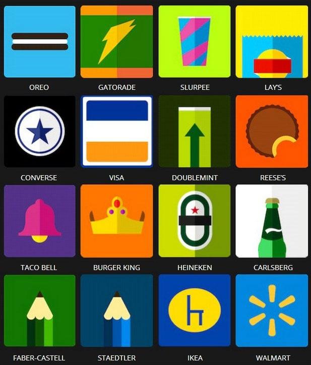 Icon Pop Brands Quiz Answers Level 3 i