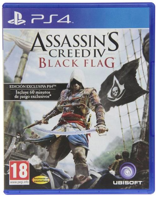 Los mejores juegos para PS4 en 2014: Assassin's Creed 4: Black Flag - Bonus Edition