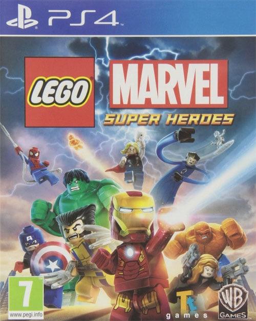 Los mejores juegos para PS4: Lego Marvel: Superheroes