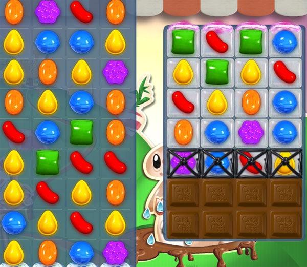 nivel 70 de Candy Crush Saga