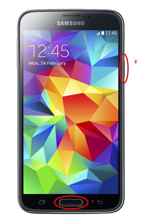 ¿Sabes cómo hacer una captura de pantalla con un Samsung Galaxy S5?