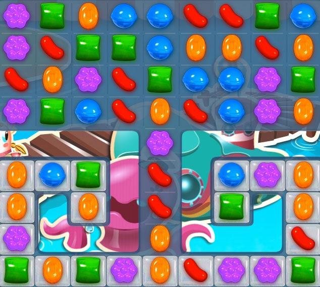 Trucos para superar el nivel 133 de Candy Crush Saga