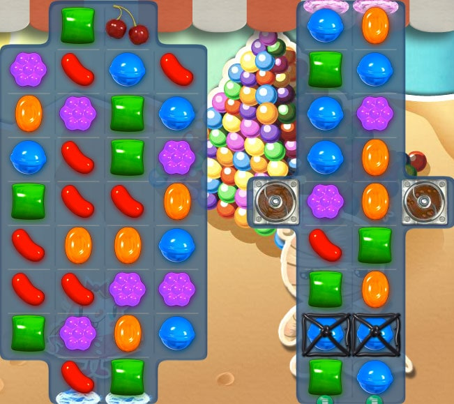 Trucos para superar el nivel 158 de Candy Crush Saga