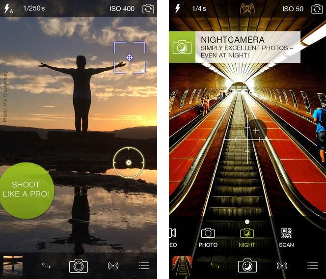 procamera 7 iphone app