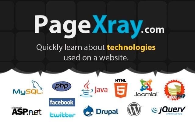 pageXray: ¿Quieres saber como esta diseñada una página web?