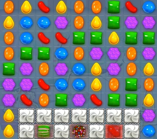 Trucos para superar el nivel 254 de Candy Crush Saga