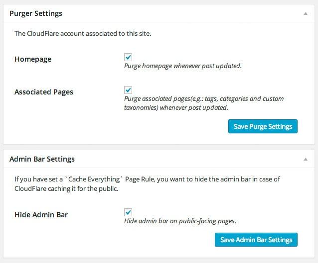 Sunny, el plugin imprescindible si quieres conectar WordPress y Cloudflare