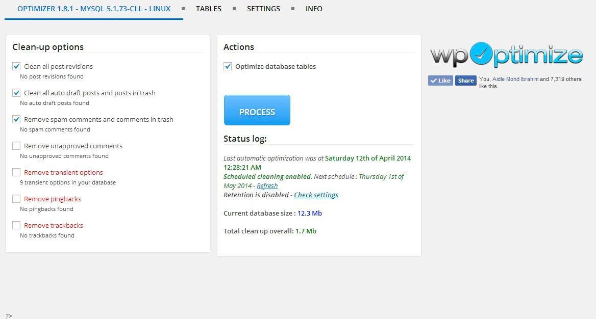 Cómo optimizar tu base de datos en WordPress