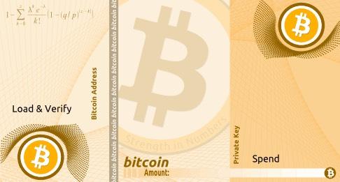 BitAddress Paper Wallet bitcoin