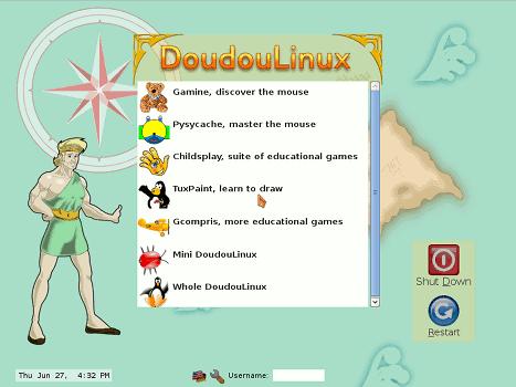 DoudouLinux, el sistema operativo perfecto para que tus hijos aprendan a usar el ordenador de manera segura