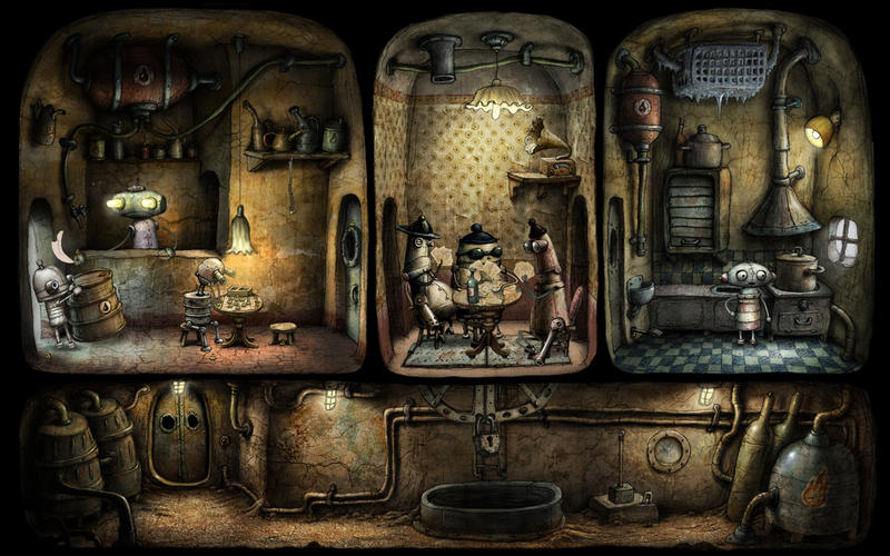 3.-Machinarium (4,99 euros)