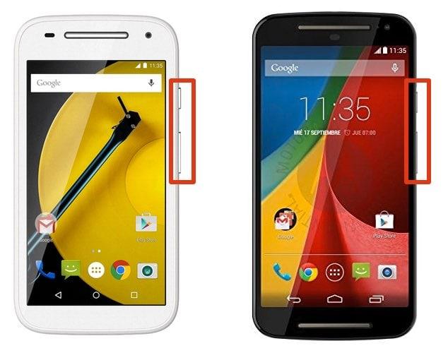 Cómo realizar una captura de pantalla en el Motorola Moto G o el Moto E (Android)