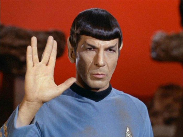 spock saludo vulcano