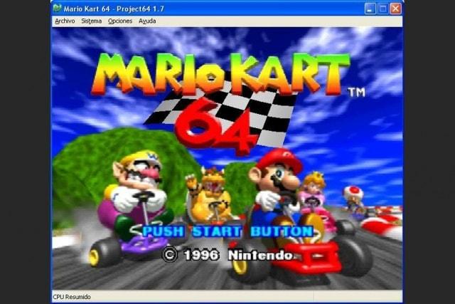 Nintendo 64 emulador