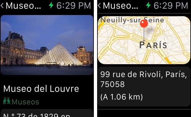 tripadvisors app Apple Watch