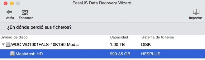 Recupera los datos y archivos borrados de tu Mac con EaseUS Data Recovery Wizard