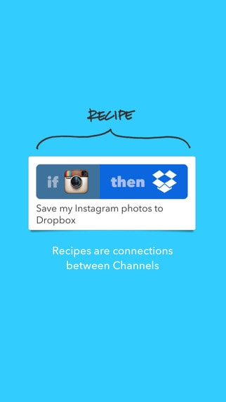 IF by IFTTT iphone app