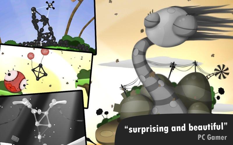 Los 2 mejores juegos de puzzles de la Mac App Store: World of Goo