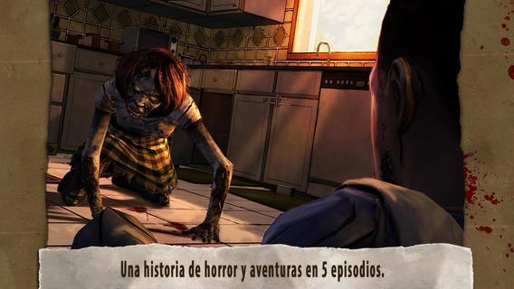 Los 7 mejores juegos de aventuras para el iPhone (2015): The Walking Dead