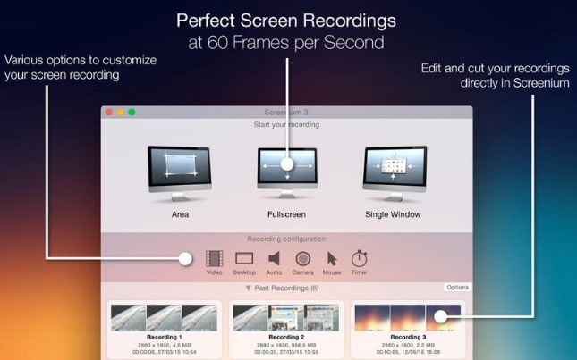 Screenium 3, app para grabar la pantalla del Mac