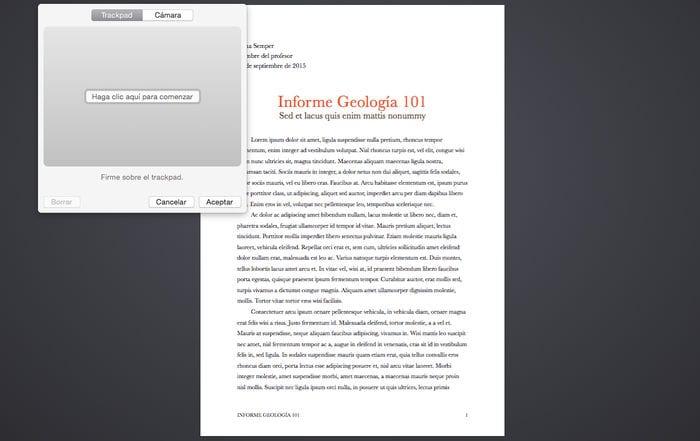 Cómo firmar documentos digitales con la aplicación Vista Previa del Mac (OS X)