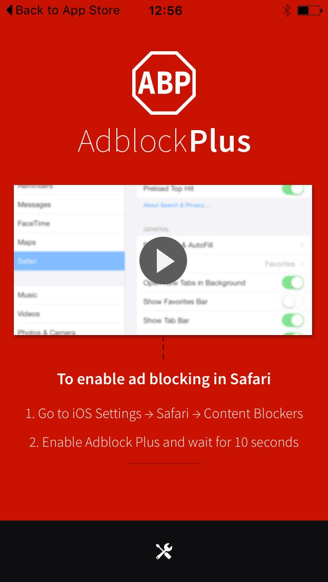 El bloqueador de anuncios de Adblock Plus para iOS (iPhone-iPad) ya esta aquí