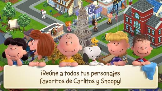 10 trucos para mejorar tu ciudad en Peanuts: Snoopy's Town Tale (iOS)