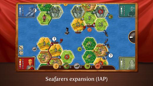 Catán para iOS (IPhone): el juego ha mejorado mucho desde la versión 4.0