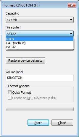 ¿Cuál es la diferencia entre los distintos tipos de formato de los discos duros: FAT32, exFAT y NTFS?