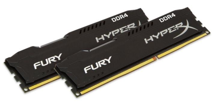 HyperX FURY - Kit de memoria RAM de 32 GB (2x16 GB, 2133 MHz, DDR4, CL14 DIMM)