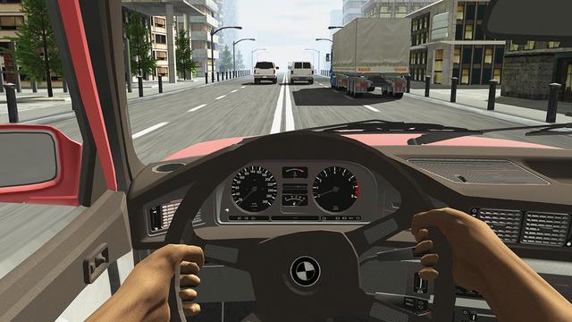 Racing in Car De Caner Kara
