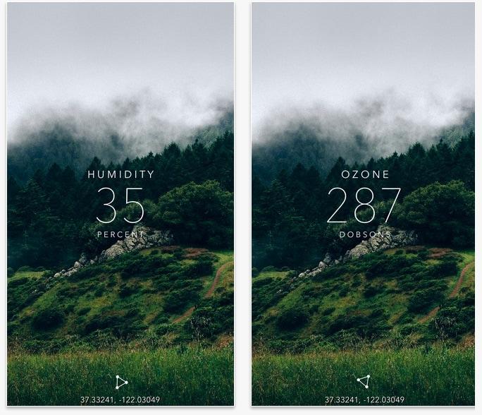 Humidity App Iphone