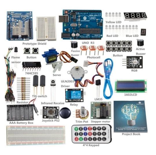 SunFounder_Starter_Learning_Kit_para_Arduino_Principiantes