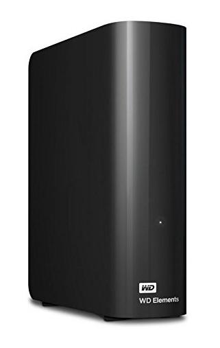 WD Elements - Disco duro externo de sobremesa de 5 TB (SATA III, 5400 rpm, USB 3.0)