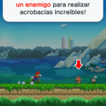 Mecanica del juego Super Mario Run para iOS