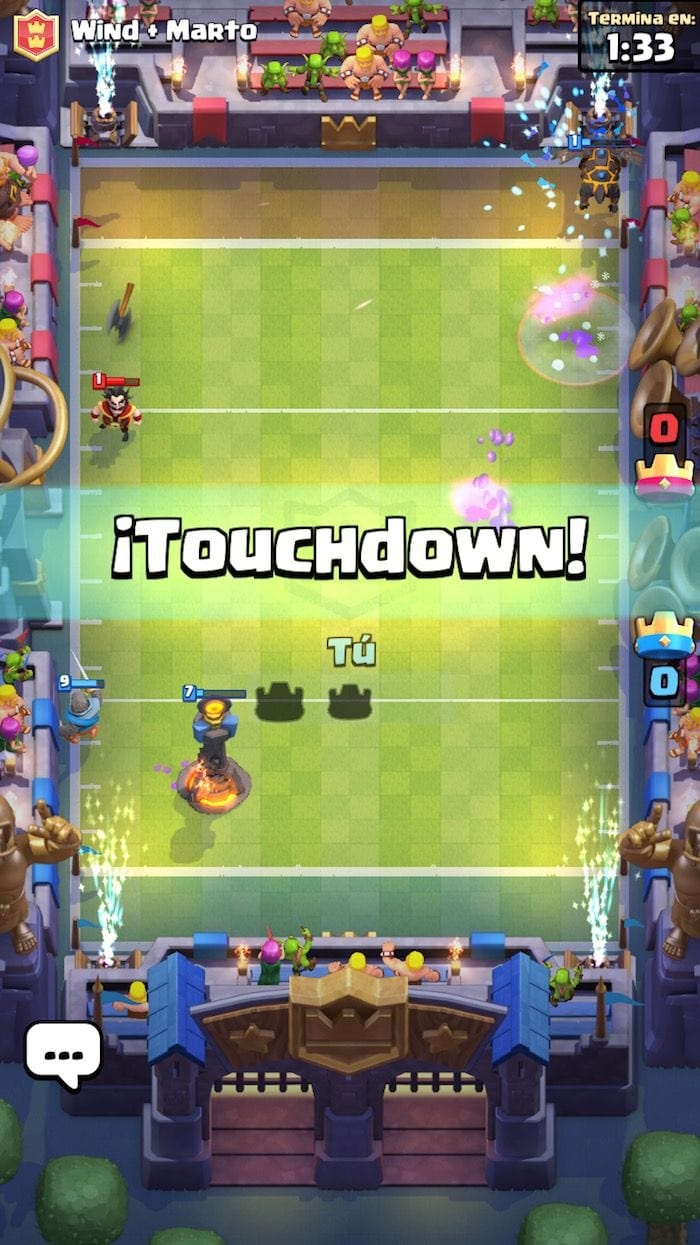 Desafío Touchdown 2c2